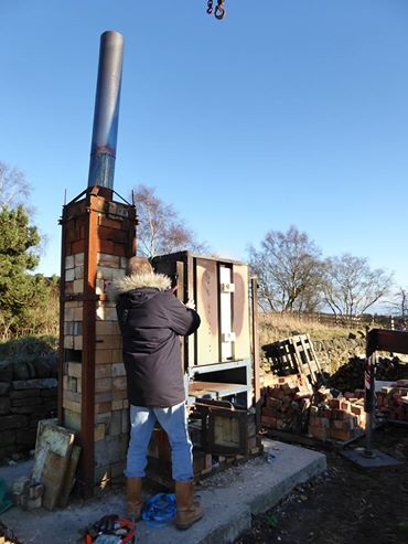 kiln building, building a kiln, DIY kiln, uk