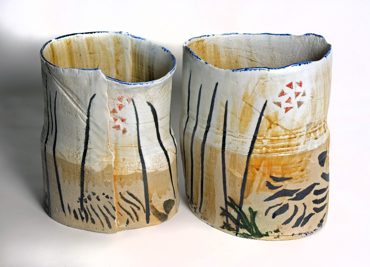 Cracks Vessels, handmade pottery, Derbyshire