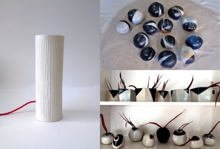 hanne-westergaard-porcelain-lights-pebble-vases
